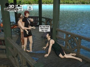 2 Boys Fuck a Woman at Boat- 3D [email protected] Stories - Page 7