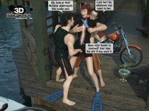 2 Boys Fuck a Woman at Boat- 3D [email protected] Stories - Page 8