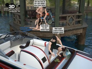 2 Boys Fuck a Woman at Boat- 3D [email protected] Stories - Page 10