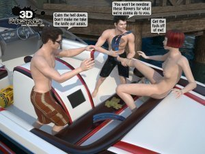 2 Boys Fuck a Woman at Boat- 3D [email protected] Stories - Page 12