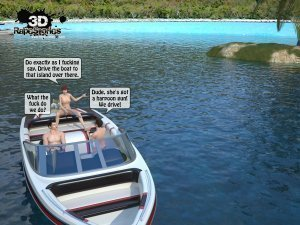 2 Boys Fuck a Woman at Boat- 3D [email protected] Stories - Page 31