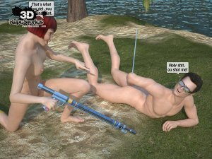 2 Boys Fuck a Woman at Boat- 3D [email protected] Stories - Page 49