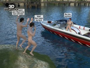 2 Boys Fuck a Woman at Boat- 3D [email protected] Stories - Page 50